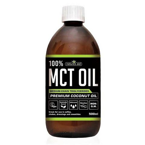 Natures Aid MCT OIL 100% 144400, 500ml