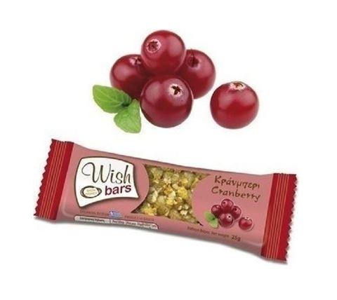Wish Bar Cranberry 25g, 1 Τεμάχιο