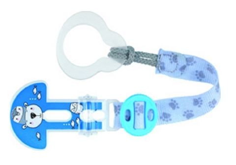 MAM Clip it! Κορδέλα Στήριξης Πιπίλας 330 Μπλε
