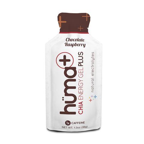 Huma Gel PLUS ενεργειακό τζελ 36g Σοκόλατα Μούρα 25mg Caffeine