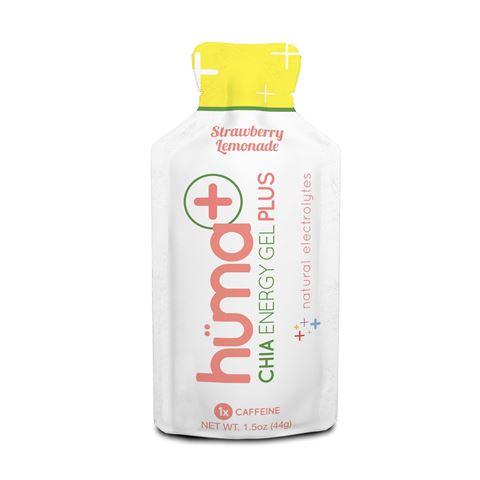 Huma Gel PLUS ενεργειακό τζελ 36g Φράουλα Λεμονάδα 25mg Caffeine