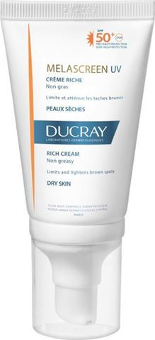 DUCRAY SUN MELASCREEN FACE SPF 50 CREME RICHE 40ML DRY TOUCH PR(-20%)
