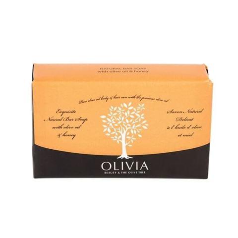 OLIVIA NAT.SOAPS OLIVE OIL + HONEY  125GR