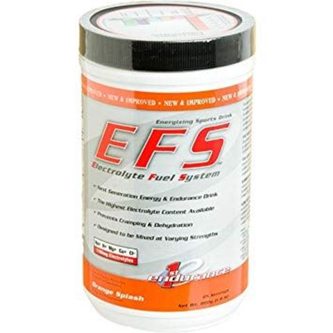First Endurance EFS - Ενεργειακό ρόφημα ηλεκτρολύτη & υδατάνθρακα σε σκόνη - Γεύση Πορτοκάλι 800γρ