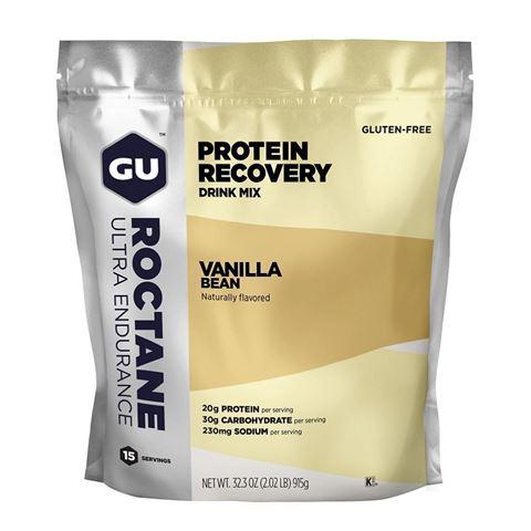 GU ROCTANE PROTEIN Recovery Drink Mix Vanilla Bean 915gr