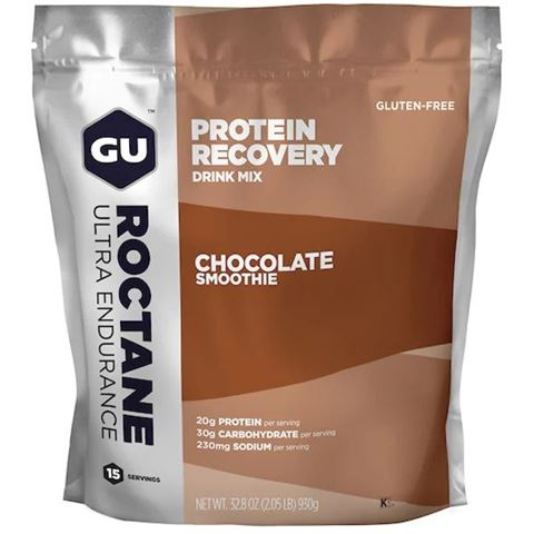 GU ROCTANE PROTEIN Recovery Drink Mix Chocolate Smoothie  915gr