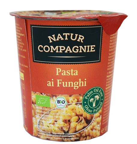Natur Compagnie Έτοιμο Γεύμα Ζυμαρικά με Μανιτάρια 50gr