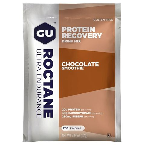 GU ROCTANE PROTEIN Recovery Drink Mix Choco Smoothie  62gr