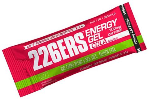 226ERS Energy Gel Cola 100mg Caffeine 25gr