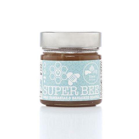 Super Βee Μέλι Βαμβακιάς και Βασιλικού Πολτού