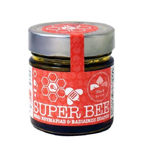Super Βee Μέλι Κουμαριάς και Βασιλικού Πολτού