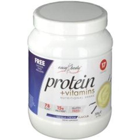 QNT Easy Body Protein + Vitamins - Vanilla Cream, 350γρ