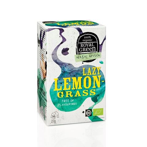 Royal Green Herbal Infusion Lazy Lemon-Grass 27gr