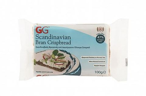 GG Scandinavian Bran CrispBread 100g