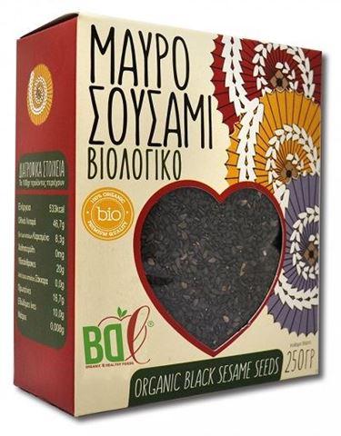 Βιολογικό Μαύρο Σουσάμι BDL 250gr