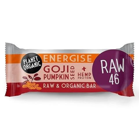 Goji Pumpkin Seed Energise Bar 30g