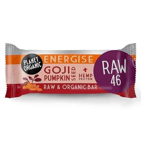 Goji Pumpkin Seed Energise Bar 30g-ημ λήξης 9.10.2020