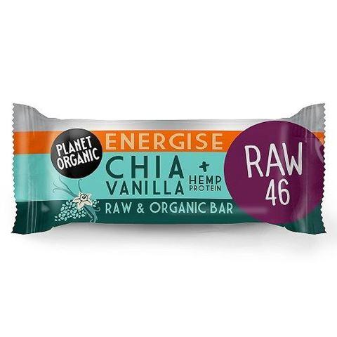 Chia Vanilla Energise Bar 30g