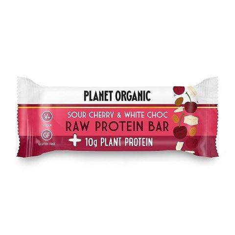 Raw Protein Bar White Choc Chip & Sour Cherry 50g