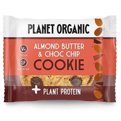 Planet Organic Almond Butter & Choc Chip 50gr