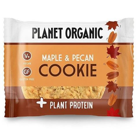 Planet Organic Maple and Pecan Cookie 50gr