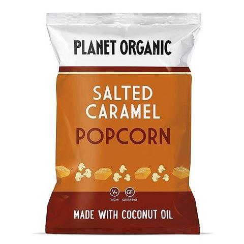 Planet Organic Salted Caramel Popcorn 20gr