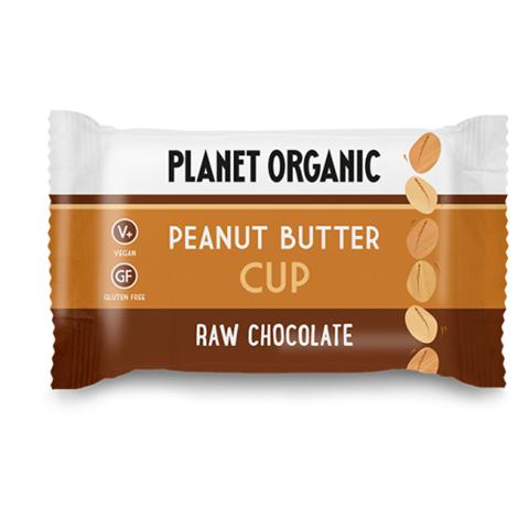 Planet Organic Peanut Butter Cup, 25gr
