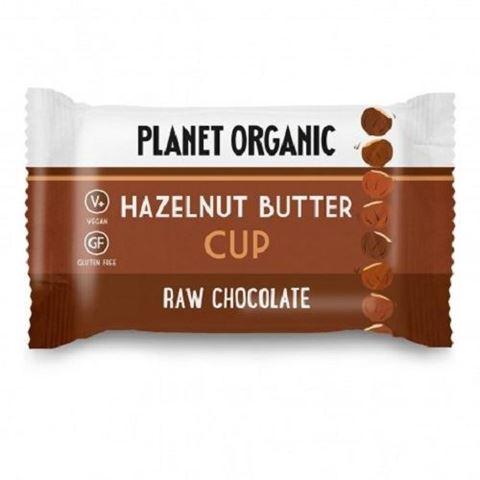 Planet Organic Planet Organic Hazelnut Butter Cup, 25gr