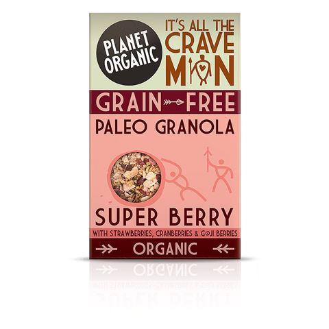 Planet Organic Paleo Granola Super Berry 350gr