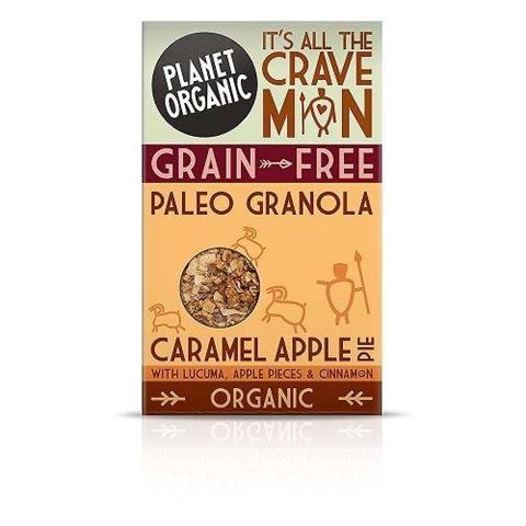 Planet Organic Paleo Granola Caramel Apple Pie 350gr