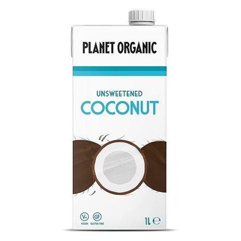 Planet Organic Unsweetend Coconut Milk, 1lt