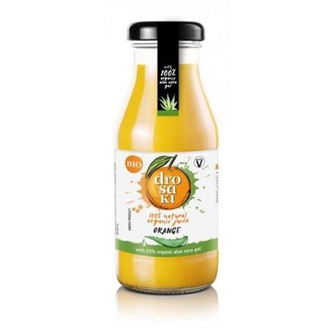 DROSAKI Φυσικός Βιολογικός Χυμός Πορτικάλι με Αλόη, 250ml
