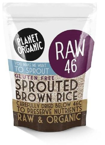 Planet Organic Sprouted Brown Rice 400gr