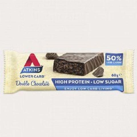 ΑΤΚΙΝS Protein Bar Διπλή Σοκολάτα 60 gr