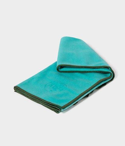 Manduka eQua Yoga Mat Πετσέτα Tasmanian Blue