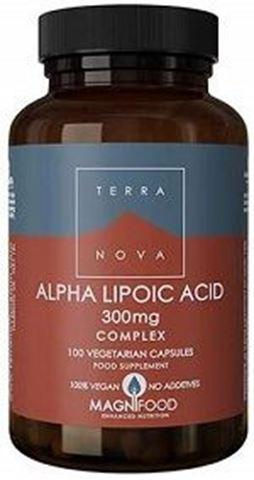 Terranova Alpha Lipoic Acid 300mg, 100caps