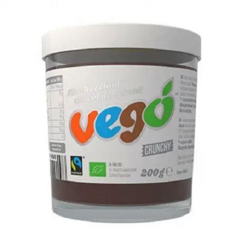 VEGO Άλειμμα Σοκολάτας Φουντουκιού ΒΙΟ 200gr