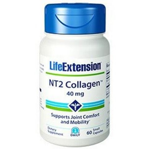 Life Extension NT2 Collagen 40mg, 60 Κάψουλες