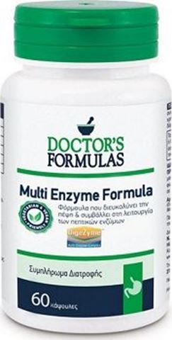 Doctor's Formulas Multi Enzyme Formula 60caps