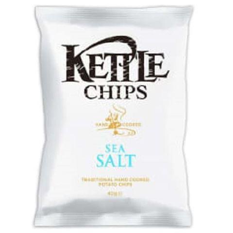 Kettle Τσιπς Sea Salt με Θαλασσινό Αλάτι 40gr
