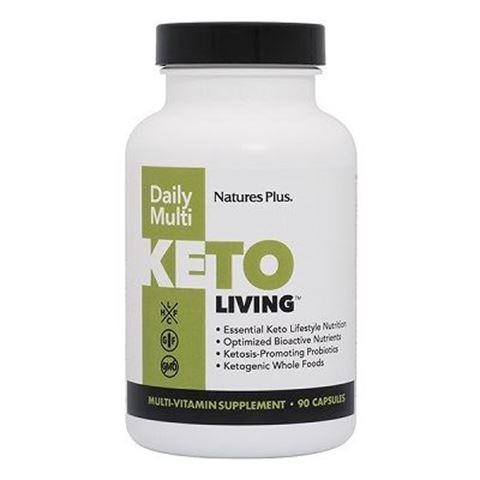 Nature's Plus KetoLiving™ Daily Multi Capsules, 90 κάψουλες