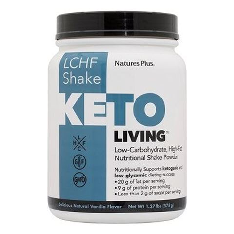 Nature's Plus KetoLiving™ LCHF Vanilla Shake, 578g
