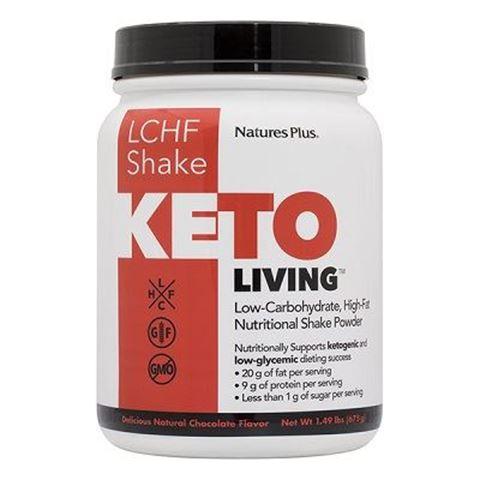Nature's Plus KetoLiving™ LCHF Chocolate Shake, 578g