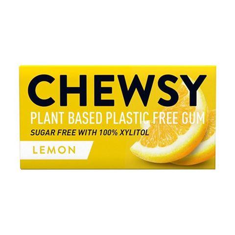 CHEWSY Vegan Τσίχλες Ξυλιτόλης Χωρίς Ζάχαρη Λεμονι 15gr