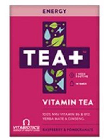 Vitabiotics Tea+ Energy Vitamin Infused Tea 14 Bags