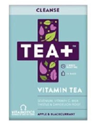 Vitabiotics TEA+ Cleanse Vitamin Infused Tea 14 Bags