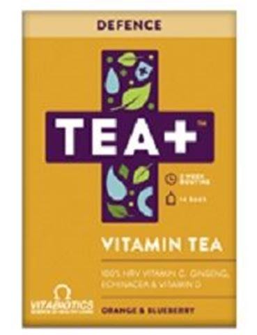 Vitabiotics TEA+ Defence Vitamin Infused Tea 14 Bags