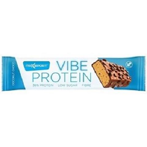 Maxsport Vibe Protein Coconut, Μπάρα Πρωτεΐνης, 55gr