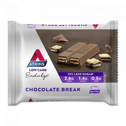 ΑΤΚΙΝS Endulge Chocolate Break 3X21,5gr