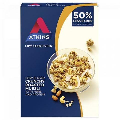 Atkins Crunchy Muesli - Τραγανό Μούσλι 325gr